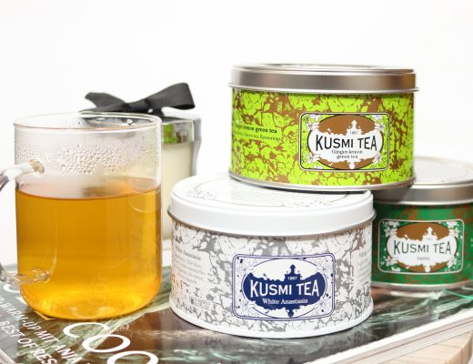 KUSMI TEA Ginger-Lemon, White Anastasia & Spearmint