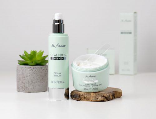 Tiefenpflege & Hautreparatur – M. ASAM® HYALURON REPAIR Serum & 24h Creme vorgestellt