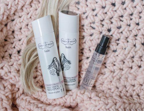 Neue Pflege für voluminöses Haar von PERCY & REED vorgestellt