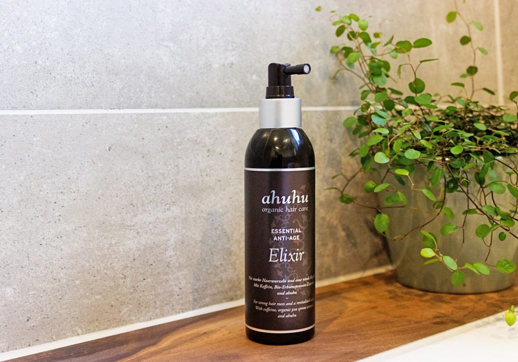 ahuhu organic hair care Essential Anti-Age Elixir