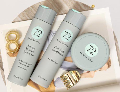 Easy Styling für trockene & strapazierte Haare? 72 HAIR Haarpflege-Set Shampoo, Conditioner & Haarmaske machen's möglich