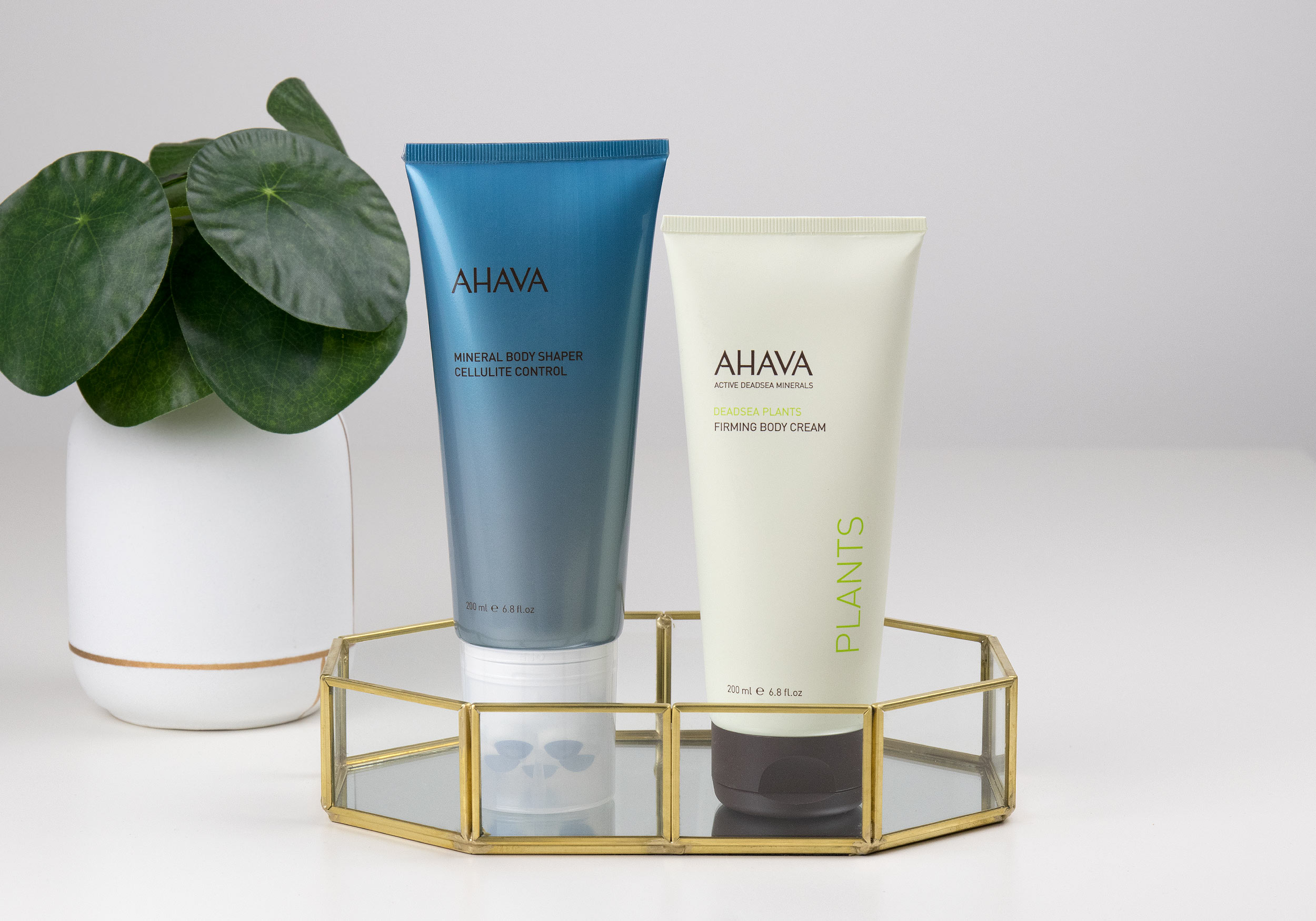AHAVA Mineral Body Shaper & DEADSEA PLANTS Firming Body Cream