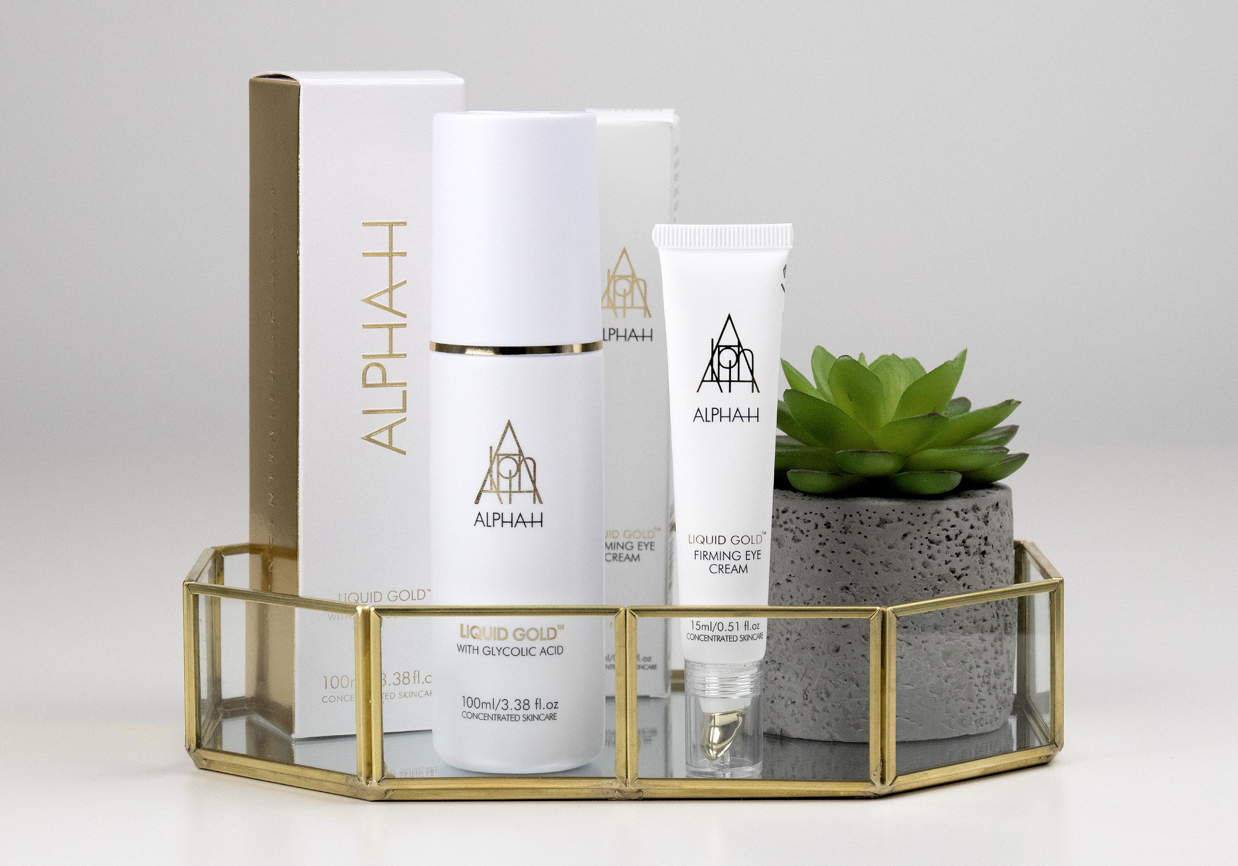ALPHA-H LIQUID GOLD Lotion & Firming Eye Cream