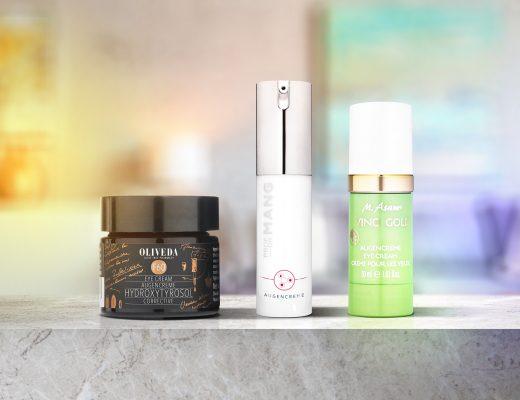 Augencreme und Gesichtscreme Produkte