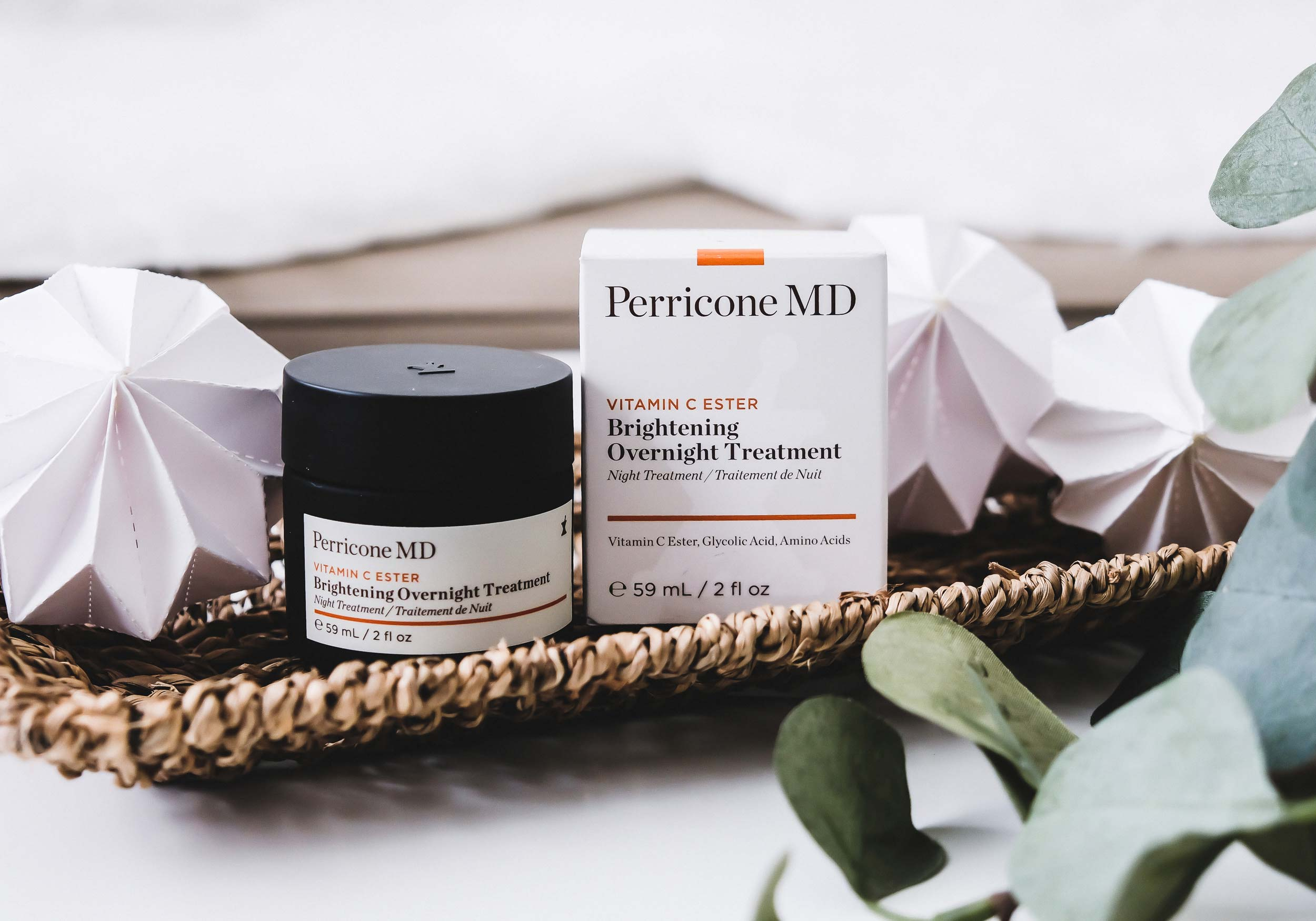 DR. PERRICONE VITAMIN C ESTER Brightening Overnight Treatment
