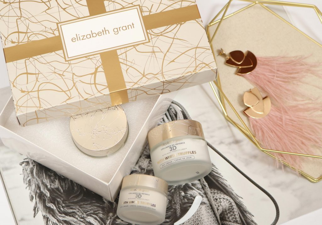ELIZABETH GRANT 3D COLLAGEN RE-INFORCE with White Truffles Skincare Set