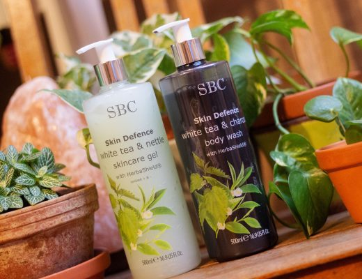 SBC SKIN DEFENCE Weißer Tee & Brennessel Skincare Gel & SBC SKIN DEFENCE White Tea & Charcoal Body Wash