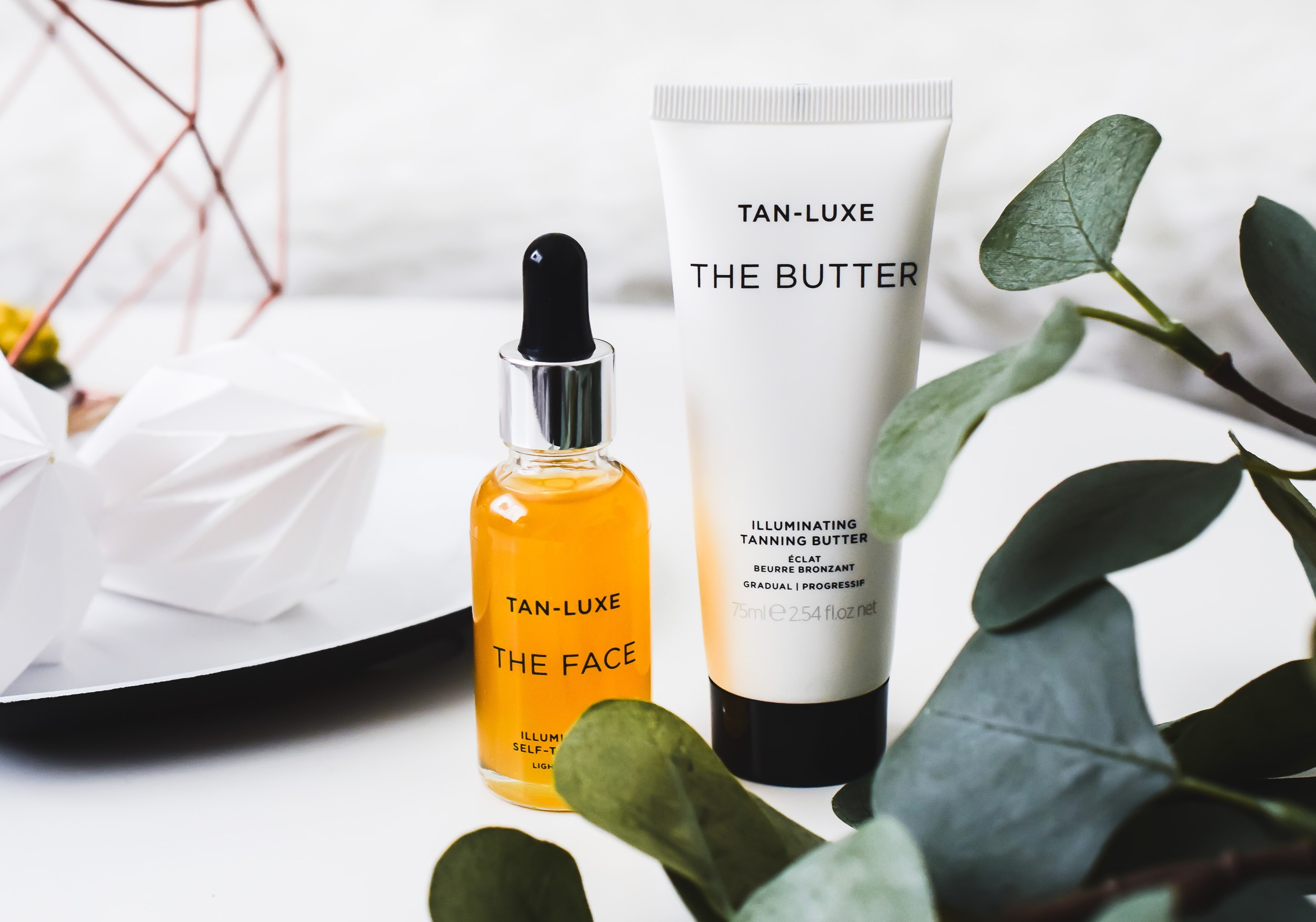 TAN-LUXE The Face & The Butter