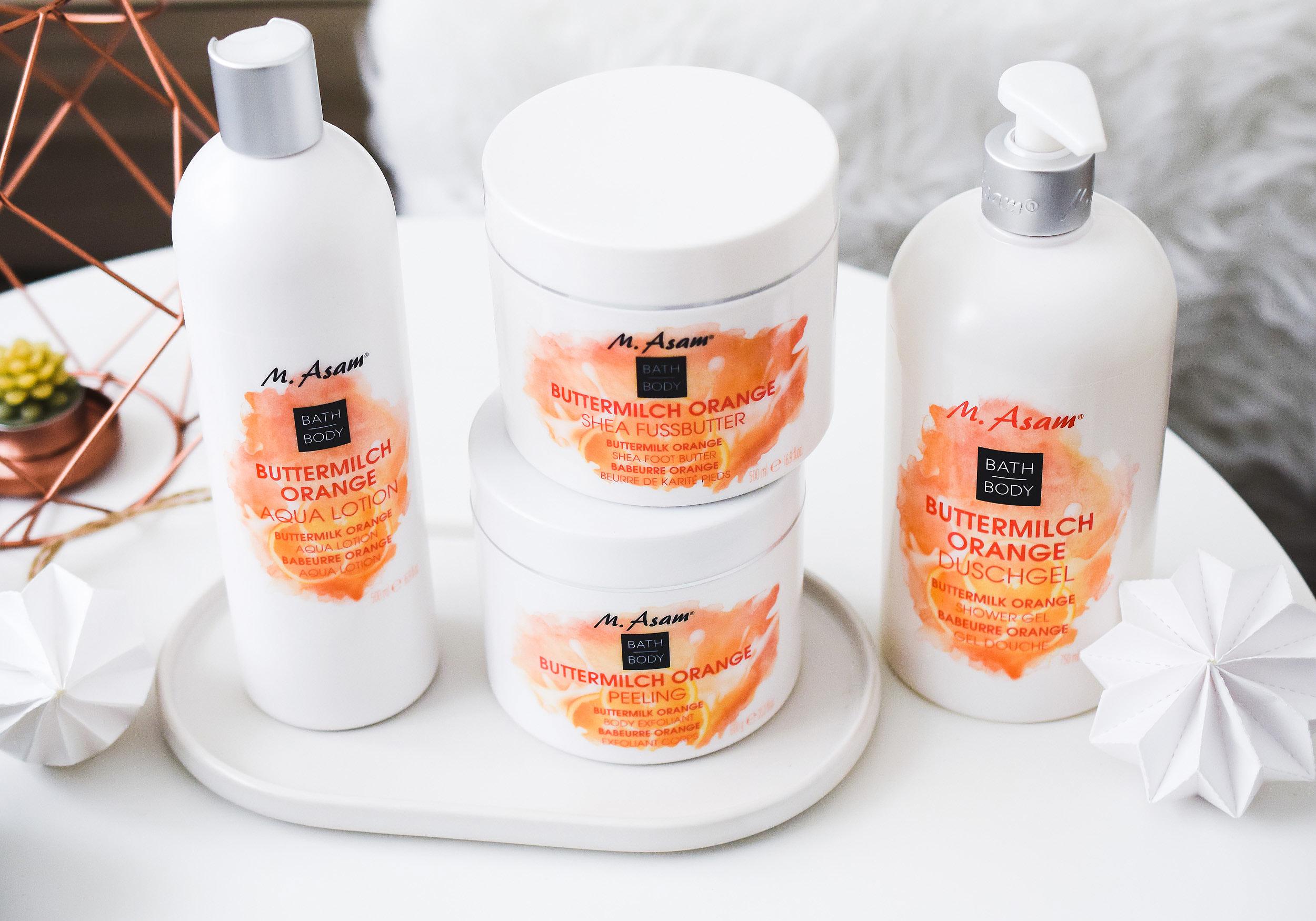 M. ASAM BATH & BODY Buttermilch Orange Hautpflege