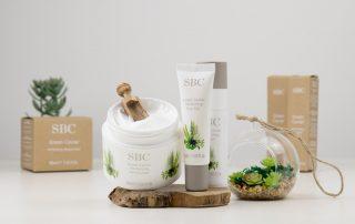 SBC Green Caviar Hautpflege-Trio