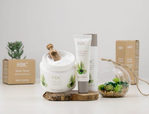 Die erste komplette Gesichtspflegeroutine à la SBC – das Green Caviar Hautpflege-Trio vorgestellt