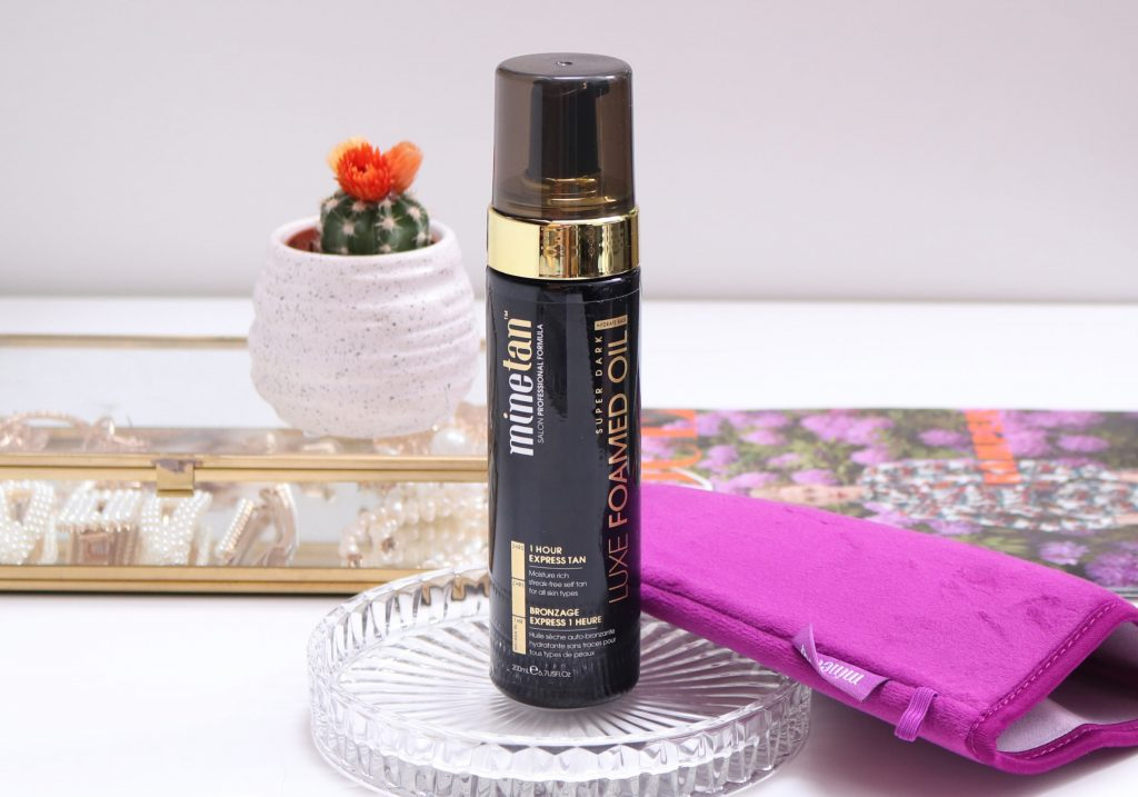 MINETAN Luxe Foamed Oil