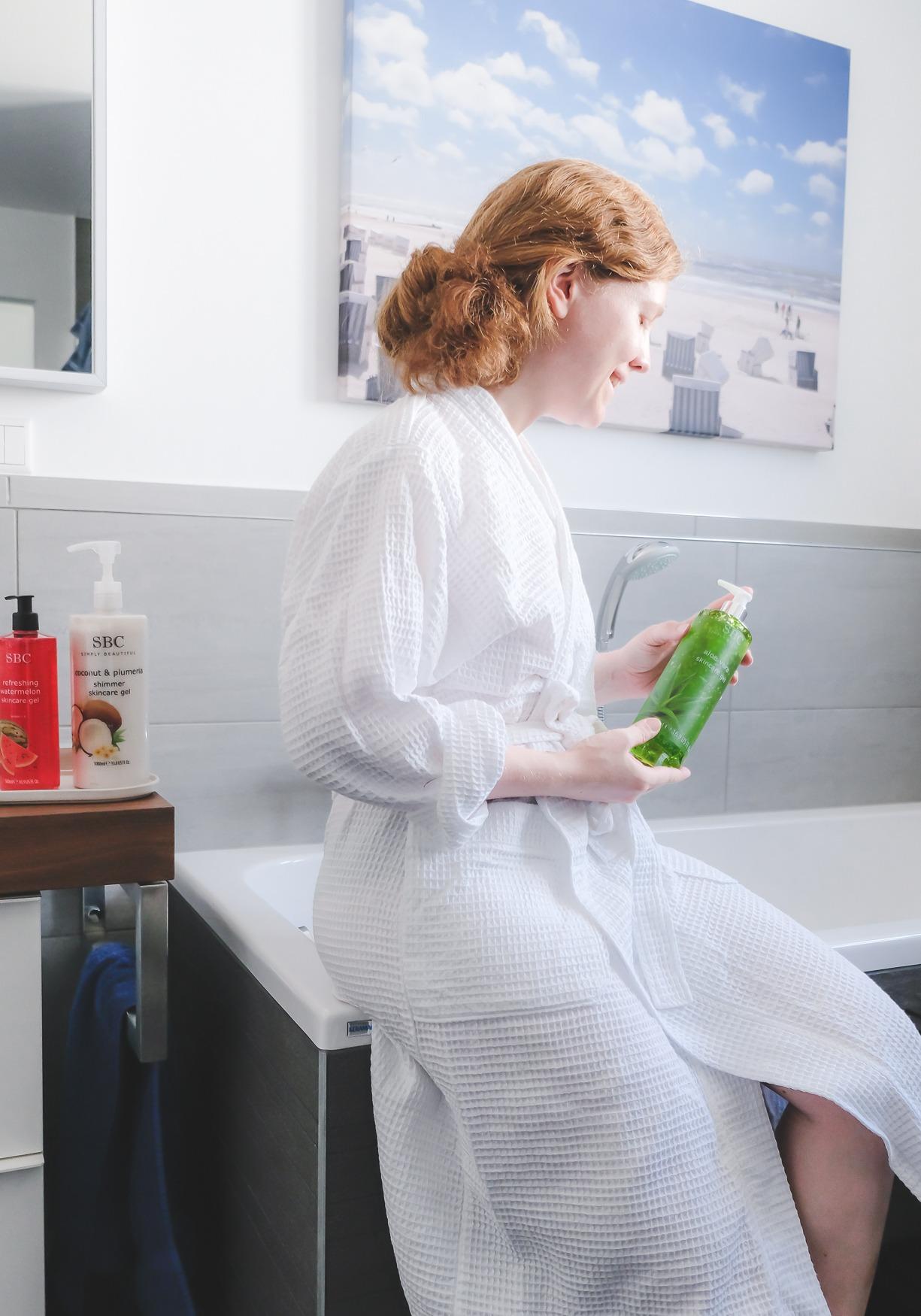 tagesangebot sommerliche sbc skincare gels im set. Black Bedroom Furniture Sets. Home Design Ideas