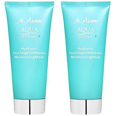 M.ASAM® Aqua Intense® Hyaluron Feuchtigkeitsmaske 2x 100ml
