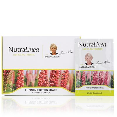 NUTRALINEA Lupinen-Proteinshake 20 Sachets für 20 Tage