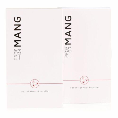 PROF. DR. MANG Ampullen-Set Feuchtigkeit 7x 2ml & Anti-Falten 7x 2ml
