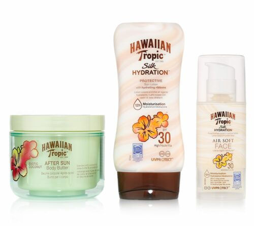 HAWAIIAN TROPIC™ Sonnencreme & -lotion, LSF 30, Body Butter 3tlg.