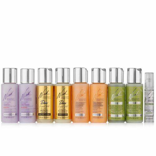 NICK CHAVEZ Try Me Shampoo & Conditioner für die ganze Familie, 9tlg.