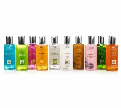 SBC Mini Collection Skincare Gel & Duschgel 10x 100ml