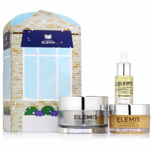 ELEMIS Pro-Collagen-Set Marine Cream 30ml, Cleansing Balm 20g & Marine Öl 5ml