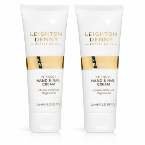 LEIGHTON DENNY Nail Rebirth Hand & Nail Cream 2x 75ml