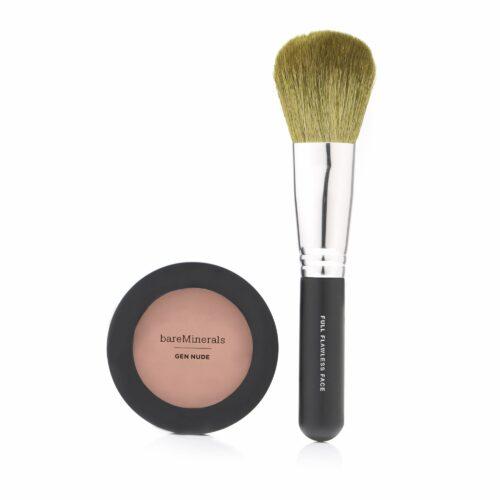 bareMinerals® Gen Nude Powder Blush & Pinsel für natürliche Farbakzente, 2tlg