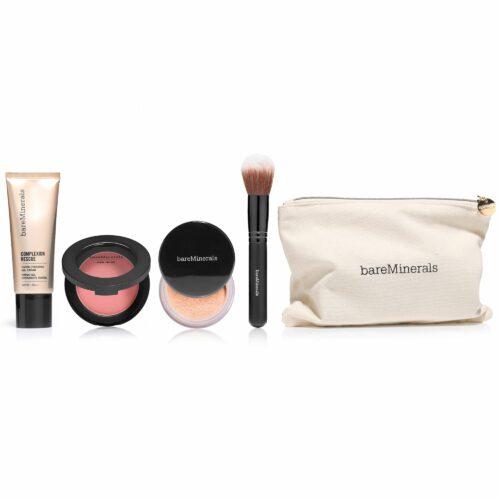 bareMinerals® Complexion Rescue Skin Saviours Kollektion 4tlg. mit Kosmetiktasche