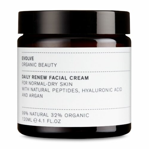 EVOLVE ORGANIC BEAUTY Gesichtscreme Daily Renew Facial Cream Sondergröße 120ml