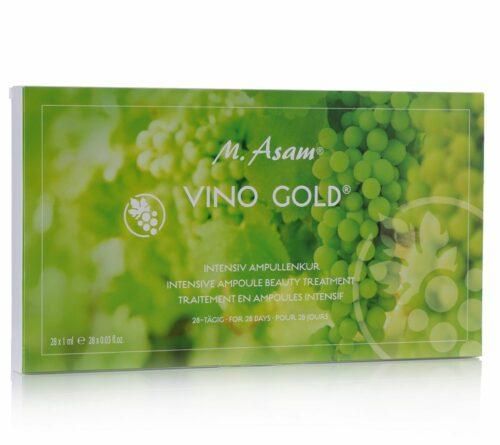 M.ASAM® Vino Gold® Ampullenkur 28x 1ml