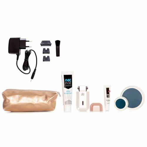 NO!NO! Micro Dauerhafte Haarentfernung für Gesicht und Körper inkl. Cremes & Tasche