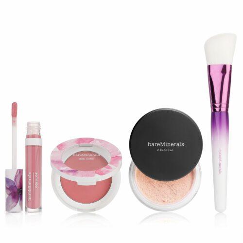 bareMinerals® Floral Utopia Orig. Foundation 16g Gen Nude Lippenlack & Rouge mit Pinsel