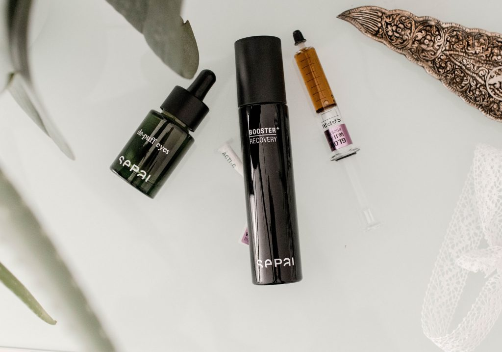 SEPAI De-Puff Eyes, Booster Recovery & Glow Pro Booster