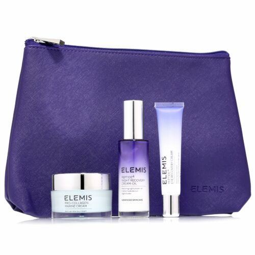 ELEMIS Gesichtspflege-Set Marine Cream 30ml, Peptide Eye 15ml & Peptide Creamoil 30ml