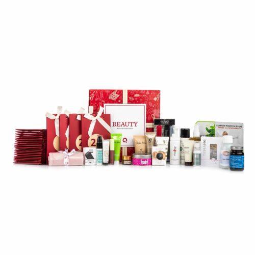 QVC Beauty Adventskalender mit 24 Überraschungen & 24 Papptüten zum Selberbefüllen