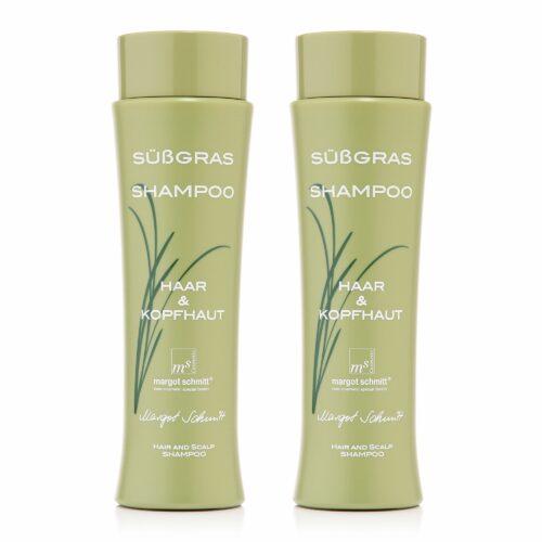 MARGOT SCHMITT® Haar- & Kopfhaut- Shampoo mit Süßgras 2x 200ml