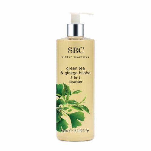 SBC Green Tea & Ginkgo 3in1-Reinigung 500ml