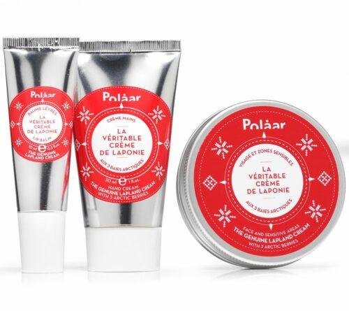 POLAAR Genuine Lapland Kit Face- & Hand- cream & Lippenpflege, 3tlg.