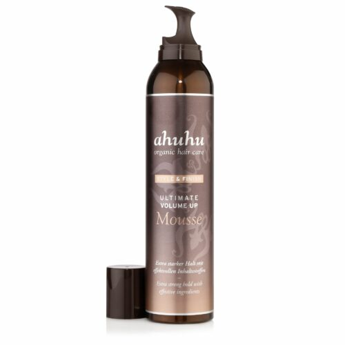 ahuhu organic hair care Ultimate Volume up Mousse 300ml