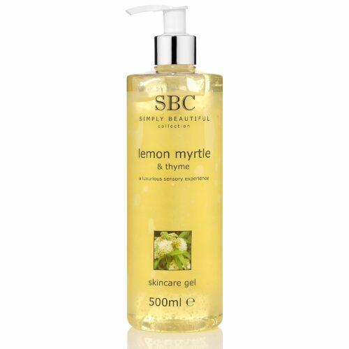 SBC Zitrus Myrte & Thymian Skincare Gel 500ml