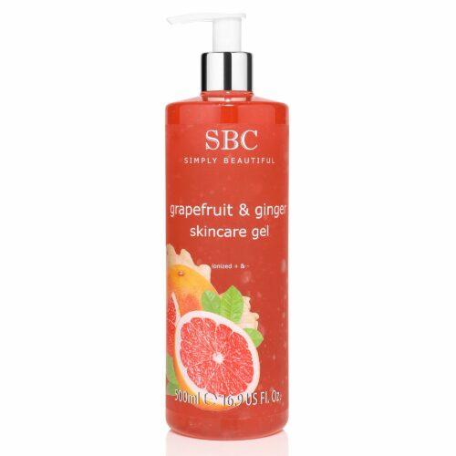 SBC Grapefruit & Ingwer Skincare Gel 500ml