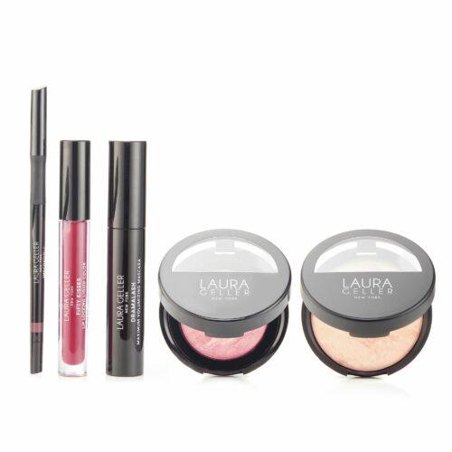 LAURA GELLER Full Face Make-up Kollektion mit BB Puderfoundation 5 tlg.