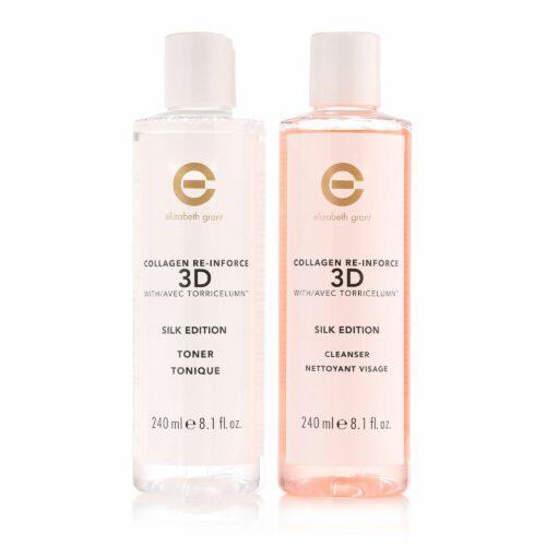 ELIZABETH GRANT Collagen Re-Inforce 3D-Silk Edition Cleanser & Toner 2x 240ml