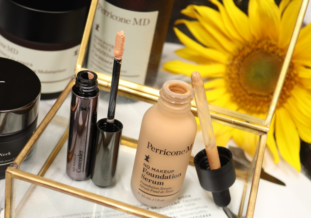 DR. PERRICONE NO MAKEUP Concealer & Serum Foundation