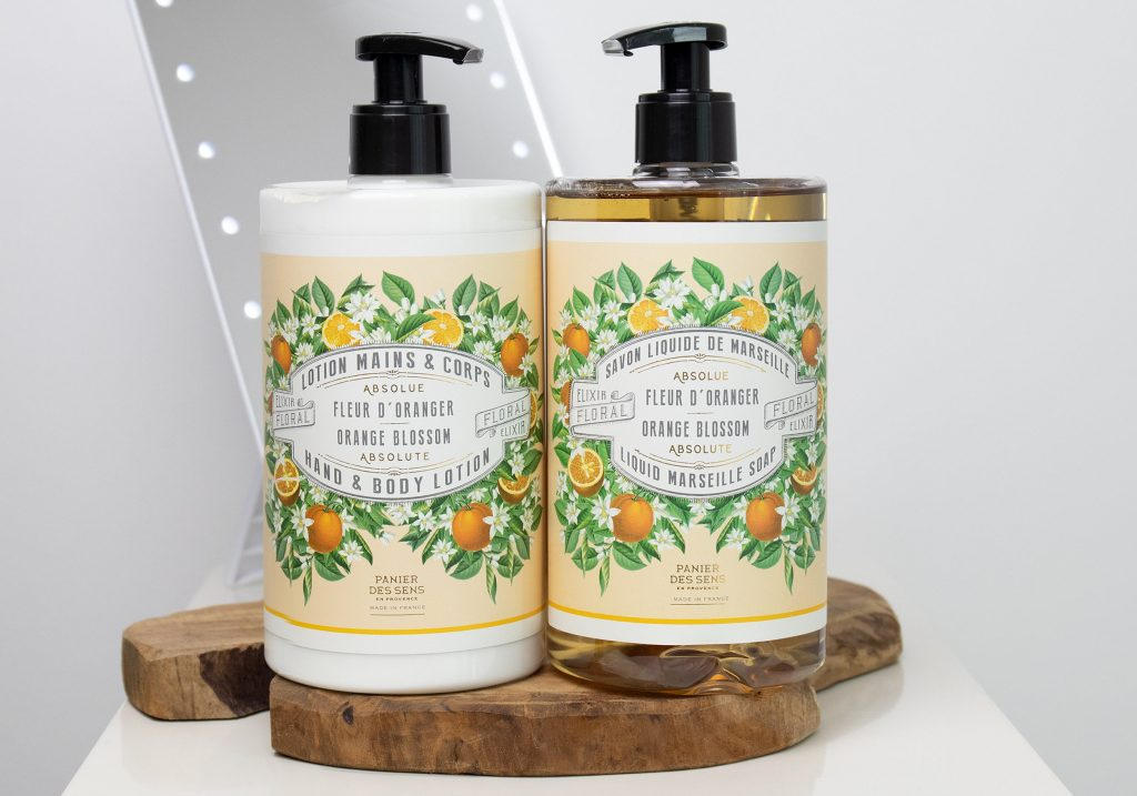PANIER DES SENS Orange Blossom Body Lotion & Soap