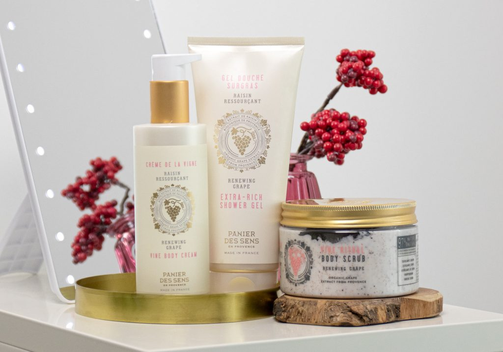 PANIER DES SENS Renewing Grape Skincare