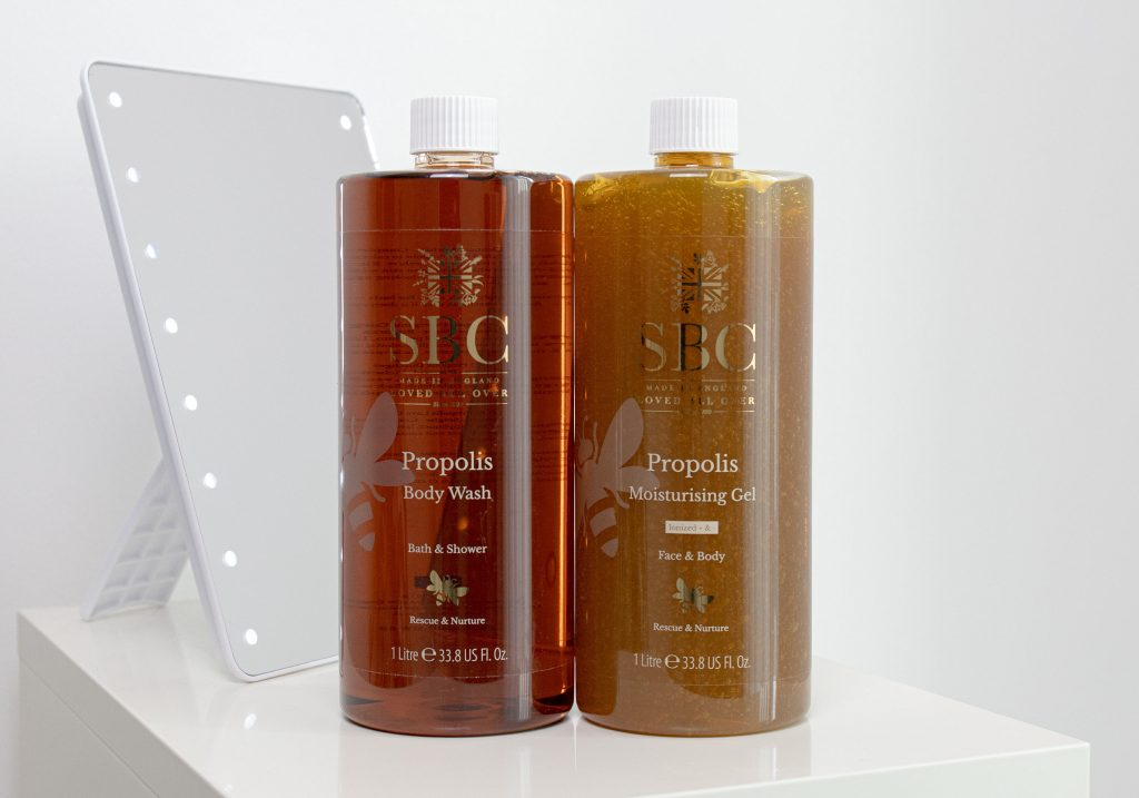 SBC PROPOLIS Body Wash & Moisturising Gel