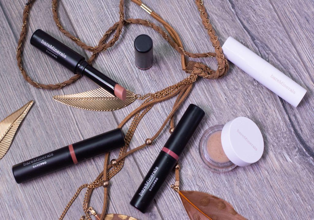 bareMinerals Lip Treats & BAREPRO Longwear Lipsticks