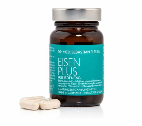 Dr. med. Sebastian Pleuse Eisen Plus 30 Kapseln für 30 Tage