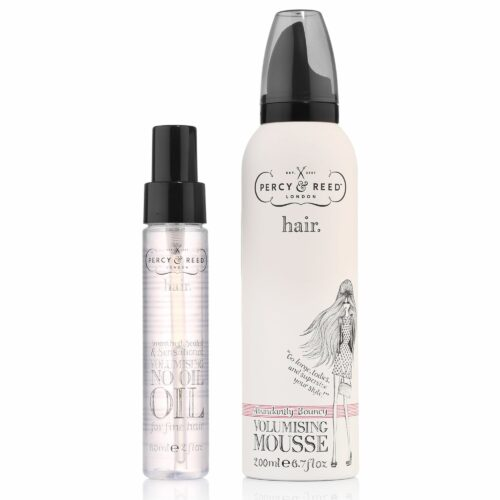 PERCY & REED Volumen-Duo Mousse & Haaröl für feines Haar
