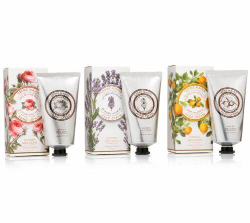 PANIER DES SENS Handcreme-Set Provence 75ml, Lavender 75ml & Rose 75ml